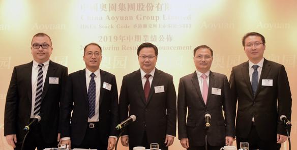 中国奥园中报合同销售达人民币536亿元 收入利润强劲增长