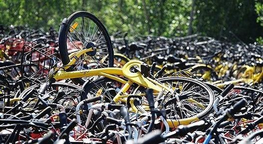"""走进""""共享单车小镇"""":订单萎缩 电动车变主流"""