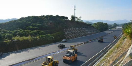 从莞高速公路惠州段有望明年春运前主线通车