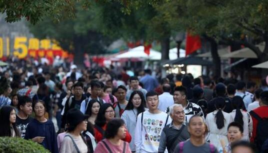 2018年中国国庆假期国内游客达7.26亿人次
