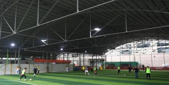 """企业可参与足球场地建设 不搞""""点球式""""支持"""