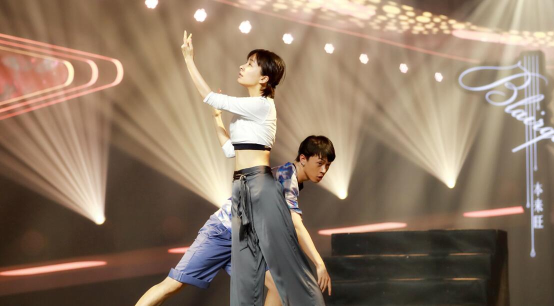 《新舞林大会》张靓颖演绎《美丽与勇敢》