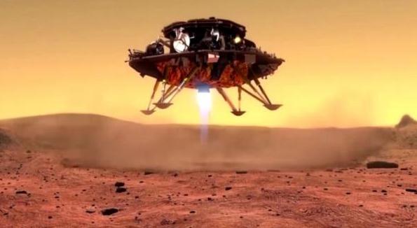 中国首辆火星车征名十强出炉 哪吒、赤兔等名称入选