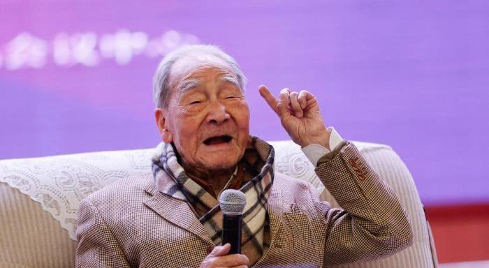 百岁翻译家许渊冲去世