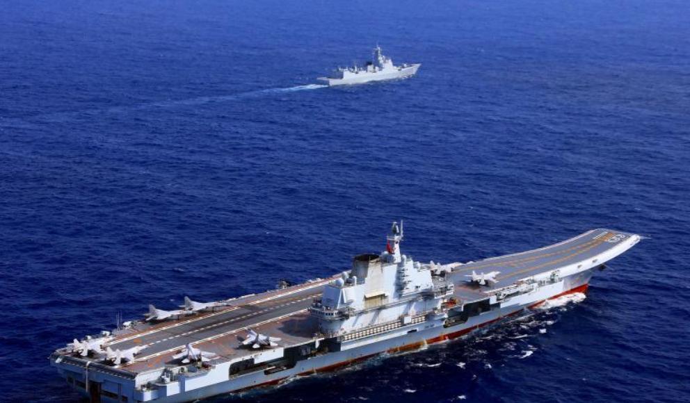 太平洋上中国航母的一天 :战机放飞回收速度加快