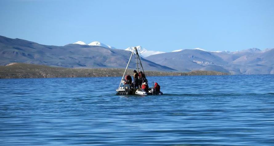 中福在线,中福在线app:二次青藏科考分队完成海拔逾4500米错鄂湖科考作业