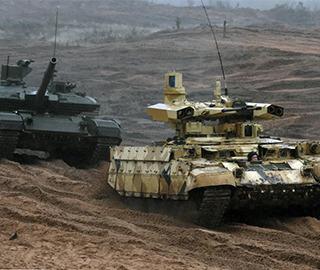 俄白联合军演多种新型武器亮相