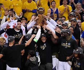 勇士4-1胜骑士 获NBA总冠军