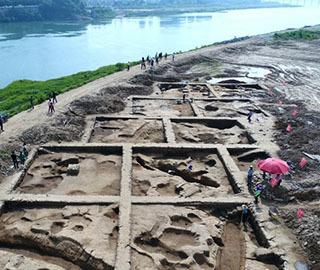湖南石门宝塔遗址现商代等时期遗址