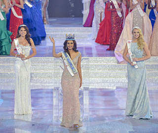 世界小姐冠军诞生 印度佳丽摘桂冠