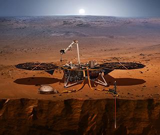 """""""洞察""""号登陆器将启程探究火星谜团"""