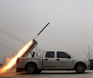 44枚火箭弹助力石家庄增雪作业