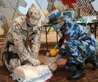中意医疗救助联合训练在吉布提举行