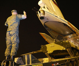 国际军事比赛外军装备全部运抵中国