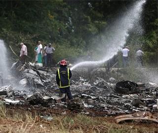 古巴哈瓦那一架客机坠毁 上百人死亡