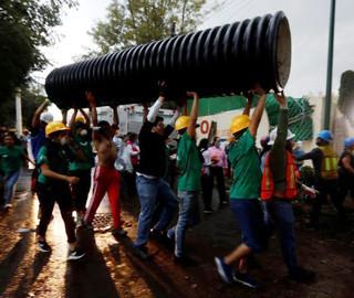 墨西哥地震已致273人遇难 救援进行中