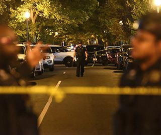 美国首都华盛顿发生枪击案致1死5伤