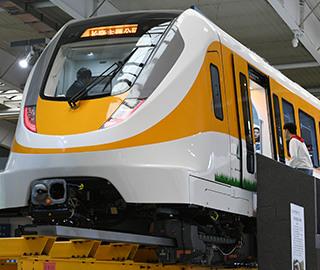 新一代中低速磁浮列车亮相长春