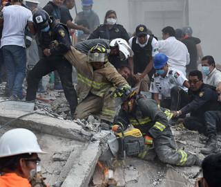 墨西哥发生强震已致数百人遇难
