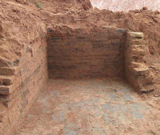 江西发现汉代古墓 该墓在明清时被盗