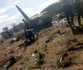 阿尔及利亚发生军用飞机坠毁事故