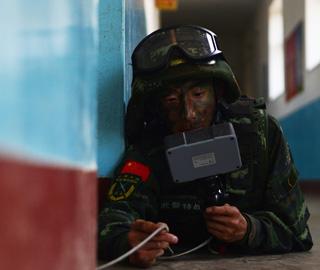 武警忻州支队作战演练提升反恐能力