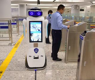 探访香港西九龙站内地口岸区