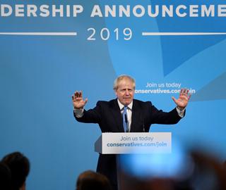 约翰逊当选保守党新党魁将成英国新首相