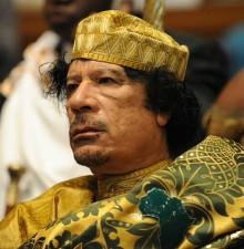 卡扎菲其人