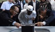 乍得总统一行访问重庆