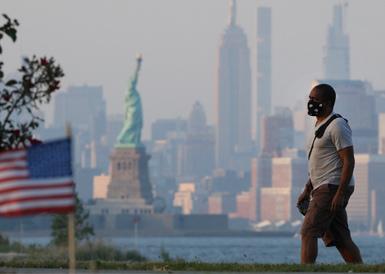 疫情下的美国独立日