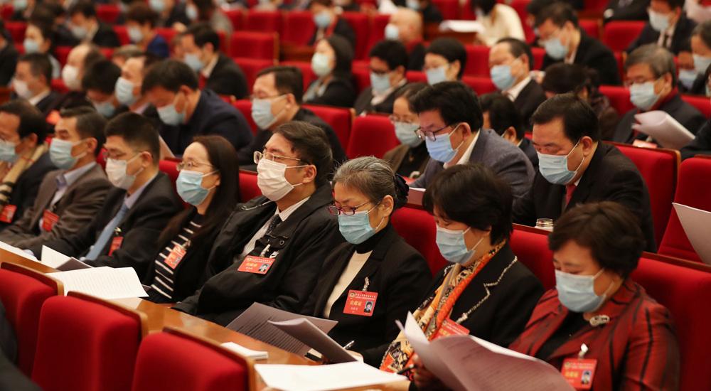 上海市政协十三届四次会议开幕