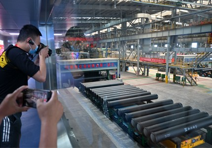 世界最大口径输水管中国造