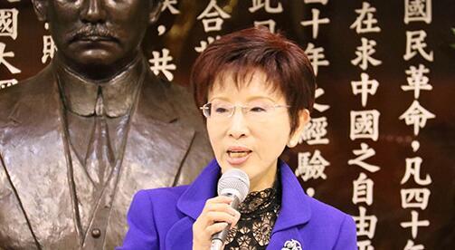 """洪秀柱:国民党反""""台独""""立场不因主席选举改变"""