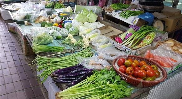 """台风""""白鹿""""逼近台湾 蔬菜批发价飙至8月最高"""