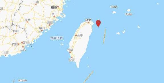 台湾宜兰外海连续发生地震 最大规模达里氏6.1级