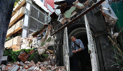 当地时间9月19日下午,墨西哥中部莫雷洛斯州发生7.1级地震,据法新社最新报道,此次强震已经造成至少106人死亡。