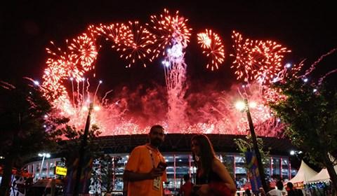 8月18日,第十八届亚运会在印尼首都雅加达开幕。