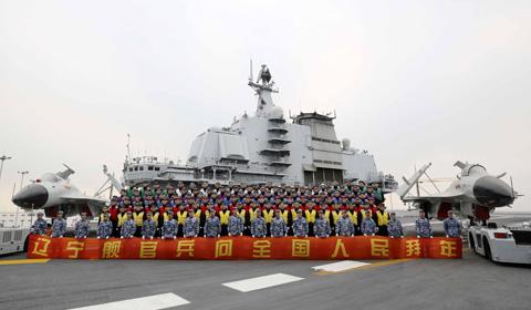 新春佳节前夕,中国海军官兵从亚丁湾、印度洋、太平洋、吉布提以及中国万里海疆发来新春祝福,向大家拜年。