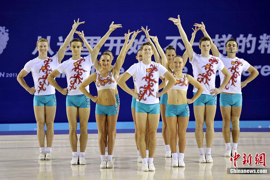 俄罗斯选手夺得大运会女子三级跳远冠军-中新