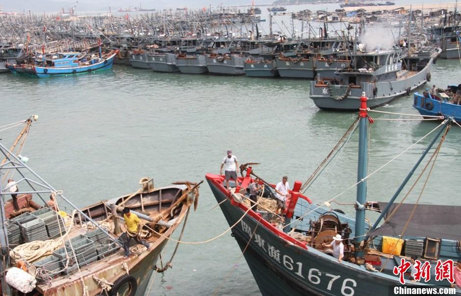 近海渔船图片_两艘中国渔船在韩国近海沉没 31人失踪-中新网