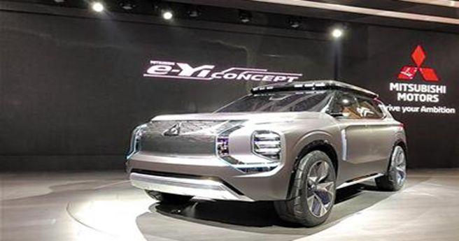 广汽三菱发布战略规划 携手三菱汽车展出e-Yi概念车