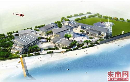 厦门直升机旅游服务中心开建 预计明年9月投用