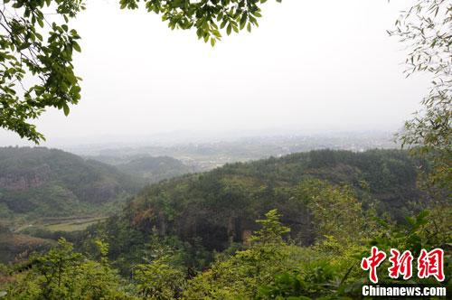 江西翠微峰一景