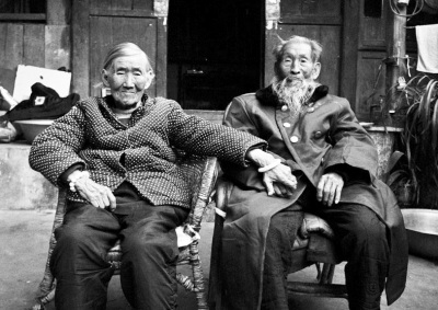 最老的抗战老兵和他的子女们(图)