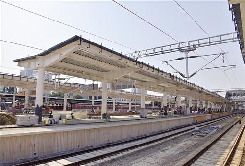 南宁火车站高铁站台计划12月10日启用