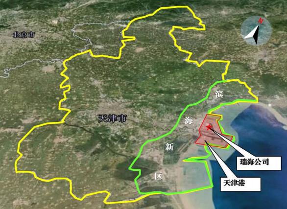 天津渤海湾海洋环境质量未受到影响.