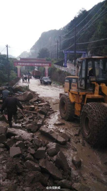 福建三明一工地山地滑坡追踪:35人失联 7人获救