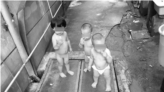 """杭州最萌""""离家出走""""案:3姐弟加起来才4岁上街 - 中国日报网"""
