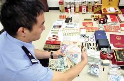 金融公司老板开宝马盗窃奢侈品自称为排解压力